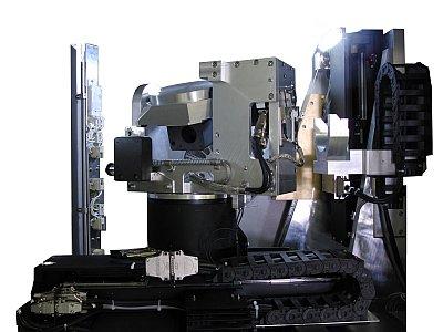 Achssystem einer OMF-Anlage