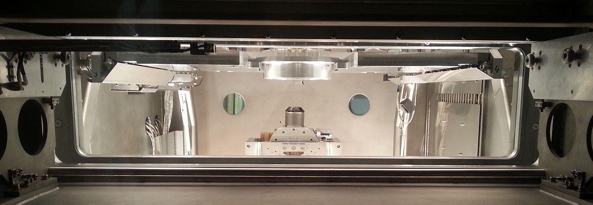 Ionenstrahl-Bearbeitung (IBF) zum Finishing von Oberflächen im High End Bereich