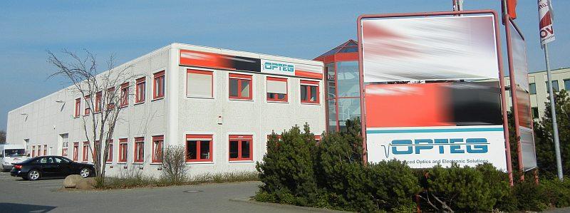 Firmensitz des Unternehmens OPTEG in Leipzig