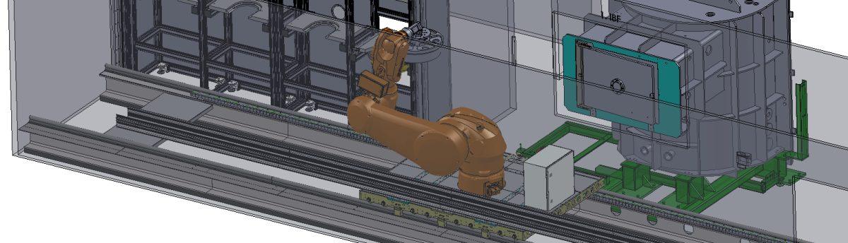 Prozess Automatisierung Strecke Werkstuecke IBF