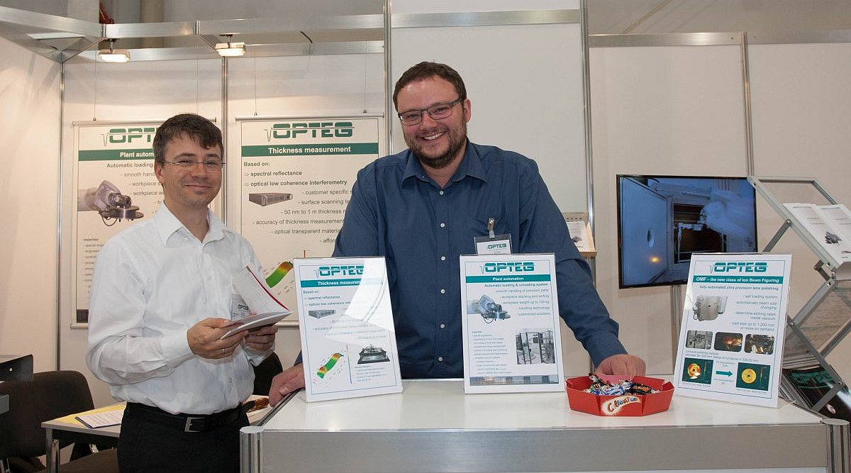 automation fachmesse leipzig stand opteg