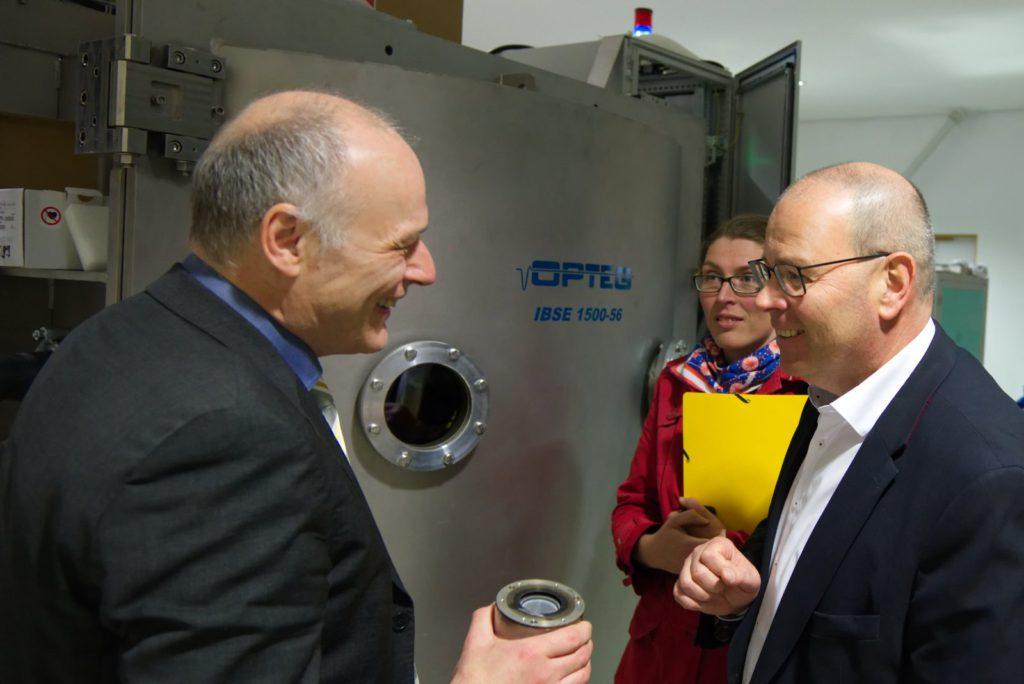 Dr. Steffen Gürtler, BM Uwe Albrecht